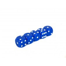 Blue Dice Pack of 5