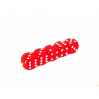 Red Dice Pack of 5