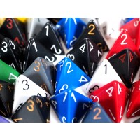 Polhedral d4 Dice - Pack of 3