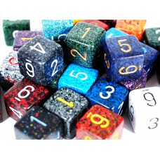 Speckled Polyhedral Dice - Pack of 3