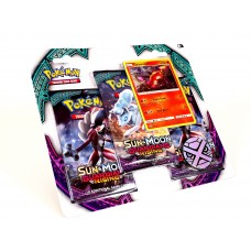 Pokemon Sun and Moon Guardians Rising Triple Booster Pack